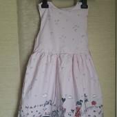 Красивое летнее платье. 6-8 лет