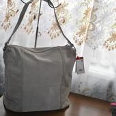 Кожа замш большая на плечо,сумочка бренда S.Oliver,оригинал,качество.