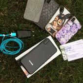 Потужний смартфон Doogee X55+4 силіконових чохла(коробка,документи,зарядка)