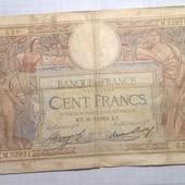 Бона Франции 100 франков 1936