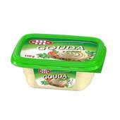Польша.Плавленый сыр  очень вкусный Mlekovita с зеленью 150 грамм