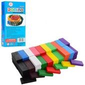 Конструктор- головоломка цветные деревянные плашки «Доминошки»! кол-во 100 шт.