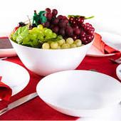 6 тарілок (обідніх  або глибоких) на вибір ФРанЦія Люмінарк для ресторанів ударост скло
