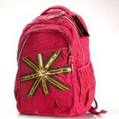 Школьный рюкзак. Розовый