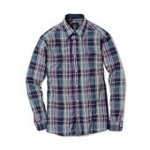 ☘ Стильная рубашка в клетку из хлопка, Tchibo(Германия), размеры наши: 56-58 (ХL евро), ворот 43/44