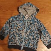 Кофта на молнии с капюшоном оригинал Nike sportswear, на возраст 12-18мес, см.замеры, + до 2,5ле