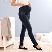 ☘Уютные качественные джинсы беременным,моделируют фигуру, Tchibo(Германия), р. наши: 42-44 (36 евро)