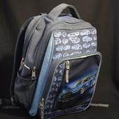 Школьный рюкзак мальчику 37*26*16 см легкий, удобный