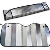 Защитная шторка на лобовое или заднее стекло для защиты салона автомобиля от попадания солнечных луч