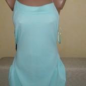 новое нежное мятное платье