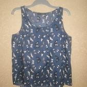 Фирменная блузка майкой Atmosphere (Атмосфера), размер uk14(M-L), качественная, мерки есть