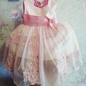 Платье нарядное принцессе 12 месяцев.