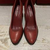 Кожаные туфли San Marina,р.39, стелька 25,5 см.