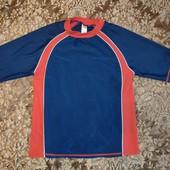 рашгард. спортивная футболка. 11-13 лет. Солнцезащитная  футболка рашгард