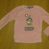 Плюшевая кофта пижама 6-7лет состояние идеальное