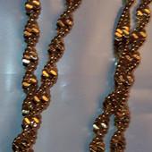 Нежная цепочка 50 см 2,5мм,позолота 585 пробы+крестик в подарок!