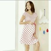 Платье на беременных от Esmara 100%котон евро 44 замеры смотрите