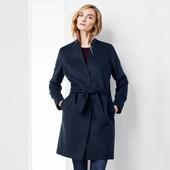 Комфортное демисезонное теплое  пальто (51 % шерсть )  от Tchibo (германия) размер 40 евро=46-48