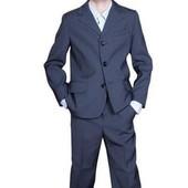 Классический школьный костюм,(брюки+жилетка+пиджак).