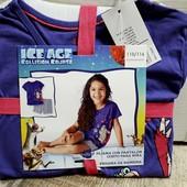 ☆ Набор шорты и футболка  110 - 116 Большемерят. Замеры. Ледниковый период