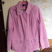 Куртка-ветровка с капюшоном, р.54