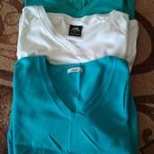 2 футболки і кофтинка з коротким рукавом, с/м