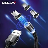 Магнитный Micro USB кабель для быстрой зарядки.
