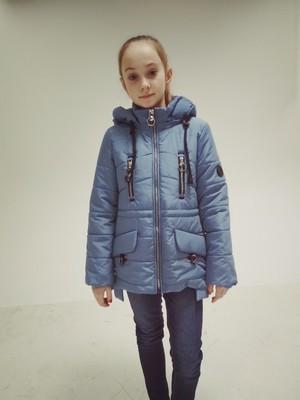Демисезонная куртка для девочки р-р 34 40 42 44 Одна на выбор