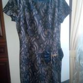 Шикарное женское платье, Турция, размер 42( наш46/48)