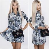 Эксклюзив , Sale фирмы, Дорогие платья абстракция из креп-костюмной ткани, отшив для Бутиков!