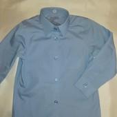 Новая голубая рубашка или футболка поло на 5-6 лет. Качество супер!