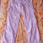 Лёгкие, летние брюки и блузка, футболка, сумка в подарок
