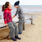 Дождевые брюки Tchibo(Германия) для активных детей! Не продувается, не промокает, размер: 146/152