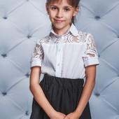 Стильные блузы в школу - для самых модных девочек!!