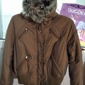 Теплая зимняя курточка 46-48