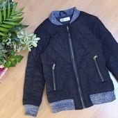 Шикарна стьогана курточка фірма H&M на ріст 122см. Стан ідеальний