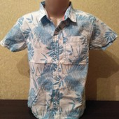 Фирменная стильная Рубашка Reebok (Рибок), на 6-7лет, качественная, мерки есть