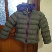 Курточка для дівчинки 3-4 рочки.