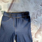 Лосины под джинс р. 32