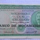 Бона Мозамбика 100 эскудо 1961