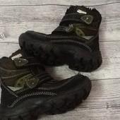 Термо ботиночки с системой Watertex 23 размер стелька 15 см