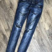 Не пропустите!!! Модные фирменные джинсы, 27 размер
