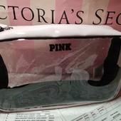 Удобная виниловая косметичка с замком Victoria's secret Pink, оригинал!