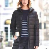 Мягусенькое стеганое демисезонное термо пальто от Blue motion германия размер 44 евро=50-52