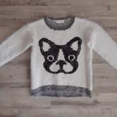 Брендовый свитер травка на рост 146-152 см