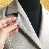 Пиджак, жакет, куртка, бомбер, рукав 2/3, как лен