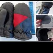 Варежки рукавицы краги зимние Thinsulate 40 gram для мальчика/девочки