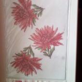 Схема для вышивки бисером, на водорастворимом флизелине,ф.А4