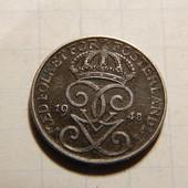 Монета. Швеция. 1 эре 1948 года!