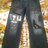 Модные и очень теплые джинсы на подростка!